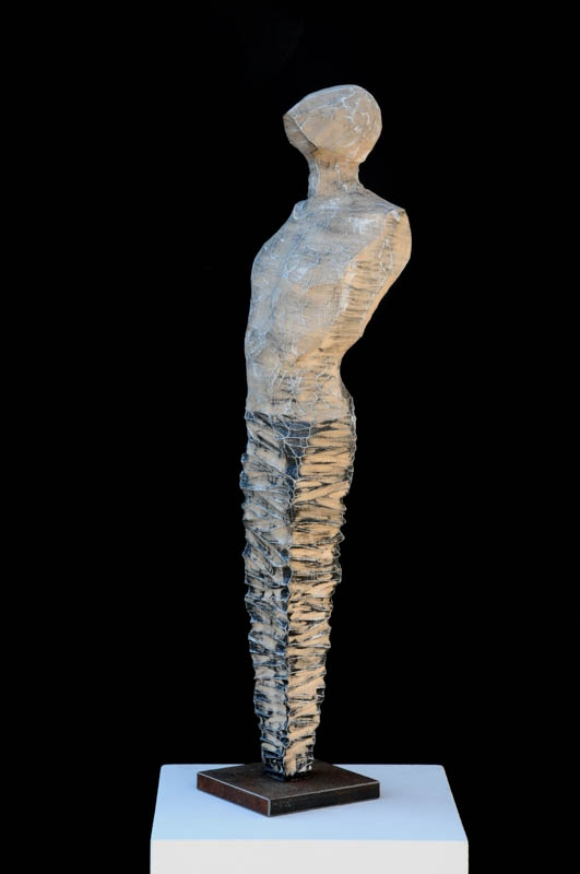ABSTRACT MALE FIGURE (2020) LIMEWOOD